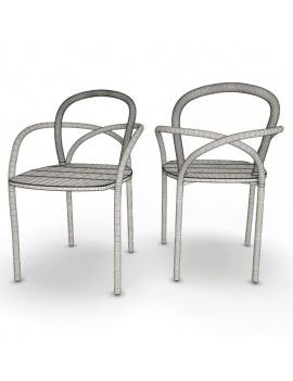 mobilier-exterieur-arc-unopiu-3d-chaise-filaire