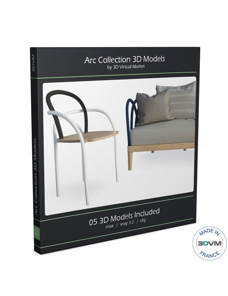 collection-de-mobilier-exterieur-arc-3d