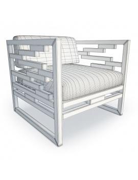 kontiti-exterior-furniture-3d-armchair-wireframe