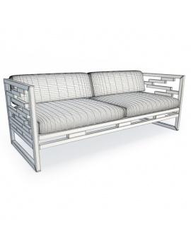 kontiti-exterior-furniture-3d-sofa-wireframe