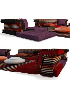 sofa-mah-jong-set-3d