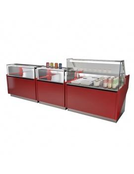 vitrines-refrigerees-et-produits-alimentaires-3d