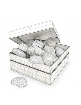 box-of-chocolate-hearts-3d-wireframe