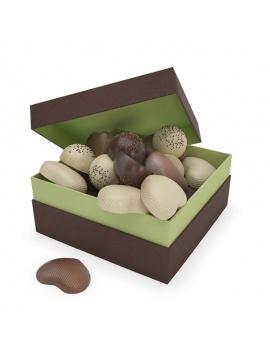 boite-de-coeurs-en-chocolat-3d