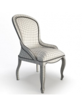 classic-armchair-enigma-vauzelle-3d-wireframe