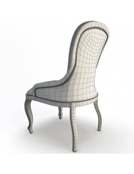 classic-armchair-enigma-vauzelle-3d-back-wireframe