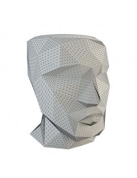 design-flower-pot-3d-wireframe