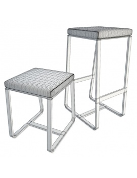 collection-outdoor-furniture-sit-3d-stools-wireframe