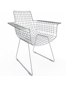 black-wire-chair-3d-wireframe
