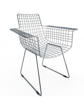 black-chair-wire-hk-3d
