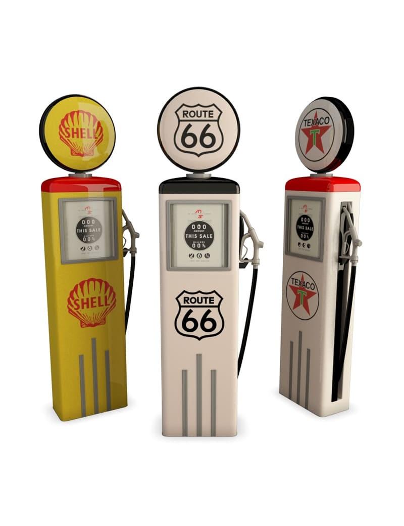 us-gas-pump-retro-3d