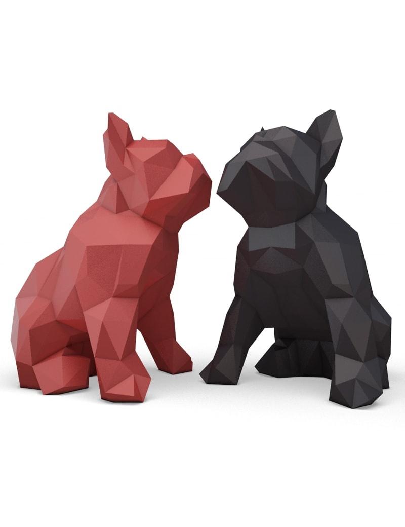 bulldog-sculpture-origami-3d
