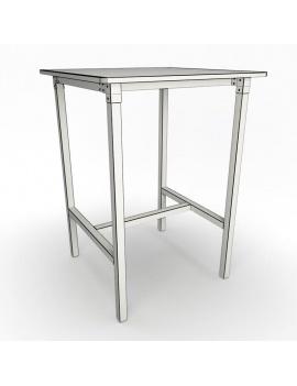 light-wood-furniture-noem-3d-high-table-wireframe