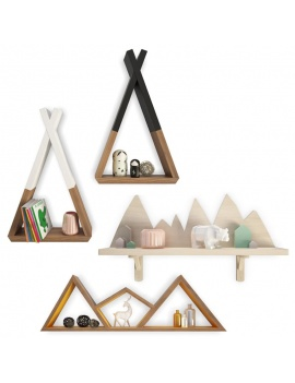 trendy-teepee-shelves-for-kids-3d