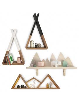 trendy-teepee-shelves-for-kids-3d