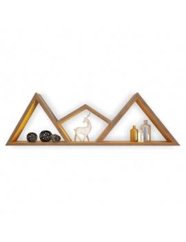 trendy-teepee-shelves-for-kids-3d-moutain-shelf-deer