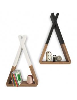 trendy-teepee-shelves-for-kids-3d-tepee-shelf-books