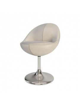 armchair-and-barstool-venus-3d-chair