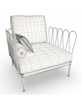 outdoor-metallic-furniture-collection-3d-models-fleurs-armchair-1-wireframe