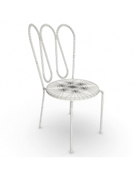 outdoor-metallic-furniture-collection-3d-models-fleurs-chair-wireframe
