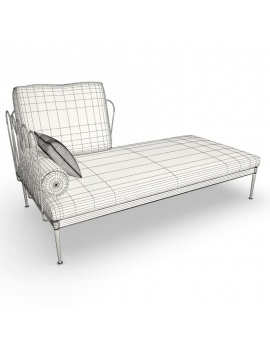 outdoor-metallic-furniture-collection-3d-models-fleurs-corner-sofa-wireframe