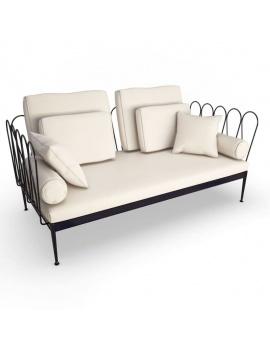 collection-3d-de-mobilier-d-exterieur-en-metal-modele-3d-fleurs-canape