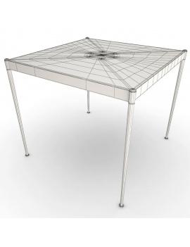 collection-3d-de-mobilier-d-exterieur-en-metal-modele-3d-fleurs-tables-filaire