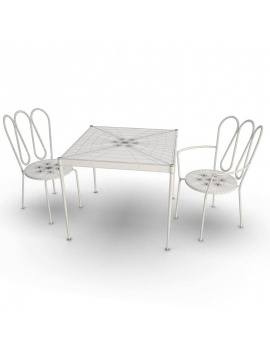 outdoor-furniture-fleurs-unopiu-3d-set-table-chairs-wireframe