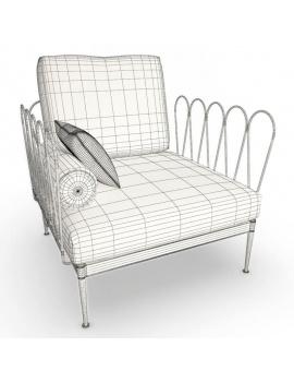 outdoor-furniture-fleurs-unopiu-3d-armchair-1-wireframe