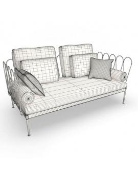 mobilier-exterieur-metallique-fleurs-3d-canape-filaire