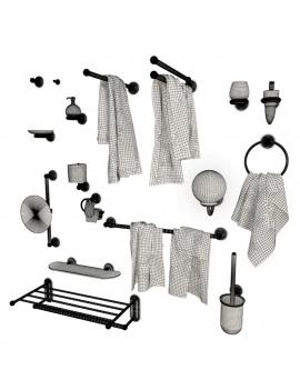 metallic-bathroom-accessories-astor-keuco-3d-wireframe