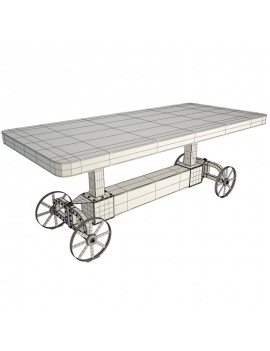 industrial-trolley-table-catania-segarra-3d-filaire