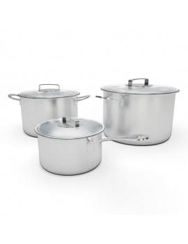 cuisine-equipee-et-ilot-central-3d-casserole-cocotte
