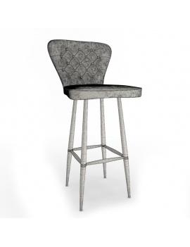 vintage-leather-bar-stool-3d-wireframe