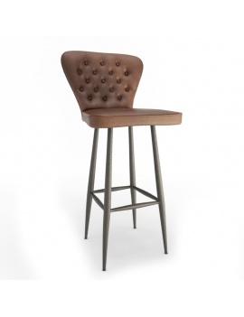 vintage-leather-bar-stool-3d