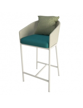outdoor-bar-stool-with-cushion-3d