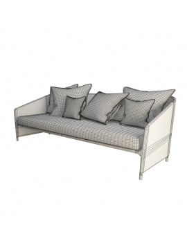 outdoor-sofa-bitta-lounge-kettal-3d-wireframe