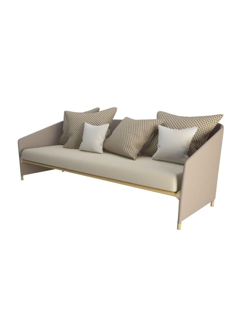 Canapé d'extérieur Bitta Lounge Kettal en 3d à télécharger en max et obj