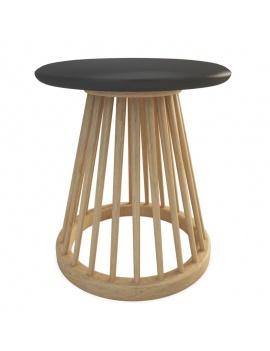 collection-mobilier-en-bois-fan-3d-tabouret