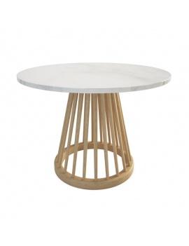 collection-mobilier-en-bois-fan-3d-table