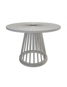 collection-mobilier-en-bois-fan-3d-table-filaire