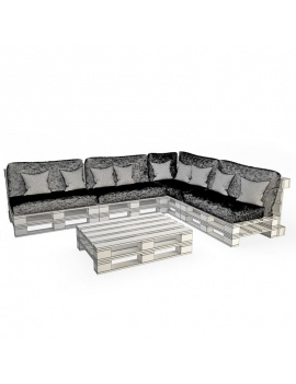 wooden-pallets-table-and-sofa-3d-wireframe