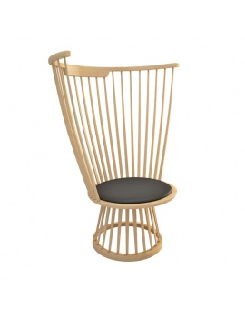 fan-chair-lounge-tom-dixon-3d