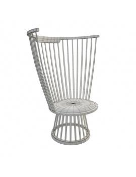 fan-chair-lounge-3d-wireframe