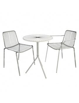 nolita-metal-outdoor-furniture-3d-wireframe