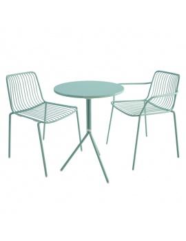 mobilier-d-exterieur-metallique-nolita-pedrali-3d