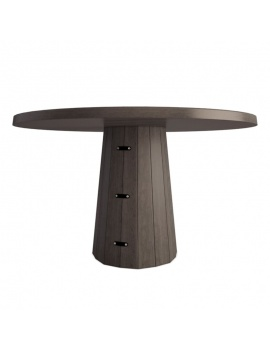 table-en-bois-container-3d