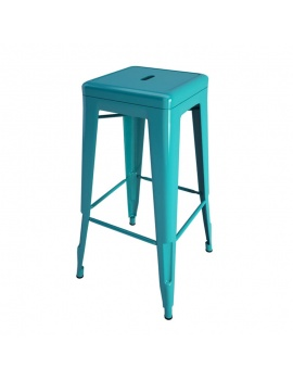 industrial-metallic-stool-3d