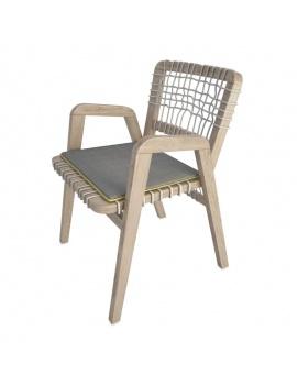 wooden-braided-chair-3d