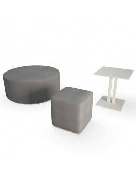 contemporary-bay-exterior-furniture-3d-table-poufs